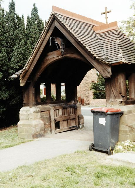 Lych Gate, St Michael and All Angels Church, Underwood, c 1983