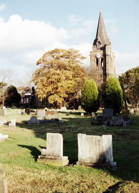 St Michael and All Angels Church, Underwood, c 1983