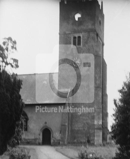 St Swithin's Church, Kirklington, 1949