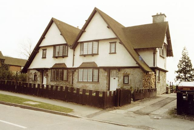 The Forge and Peartree Cottage on Main Street, Normanton on Soar, 1985