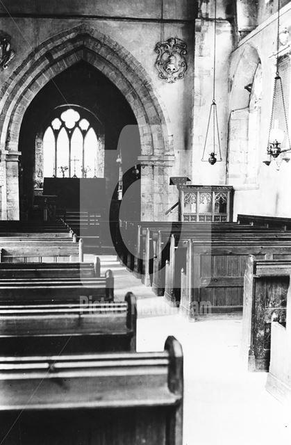 St James' Church, Normanton-on-Soar, c 1925 ?