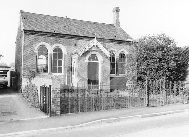 Baptist Chapel, Main Street, Normanton-on-Soar, 1975