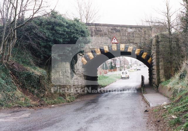 Bridge over Common Lane, Mansfield Woodhouse, 1999