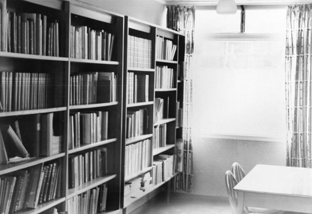 Library Reference Section, Forest Road, Ollerton, c 1985 ?