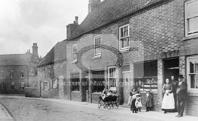 Church Street, Ollerton, c 1910