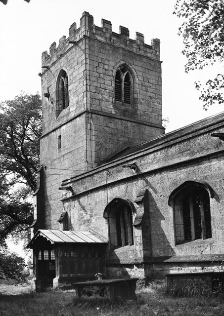 St Peter and St Paul's Church, North Wheatley, c 1970 ?