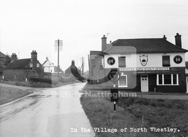The Sun Inn, Low Street, North Wheatley, c 1950 ?