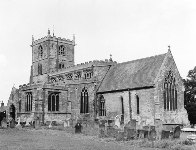 Church of St Lawrence, Norwell, 1968
