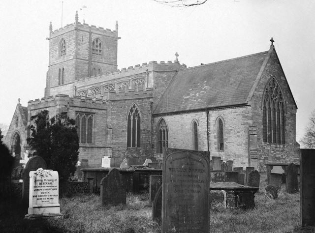 Church of St Lawrence, Norwell, c 1965