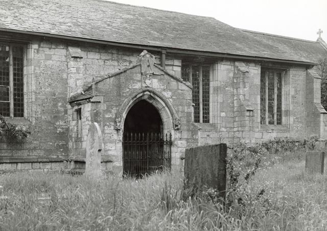 All Saints' Church, Rampton, 1950