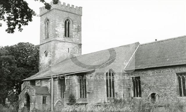 All Saints' Church, Rampton, 1950