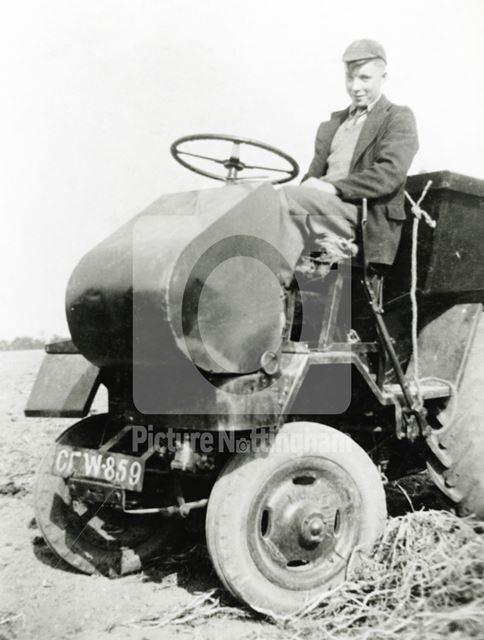 Muir-Hill tractor, New Bolingbroke, Lincolnshire, post 1944