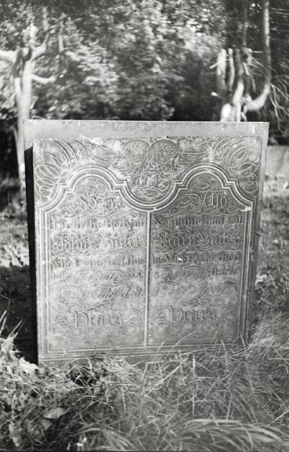 Gravestone, St Mary's Church, Radcliffe on Trent, 1947-8