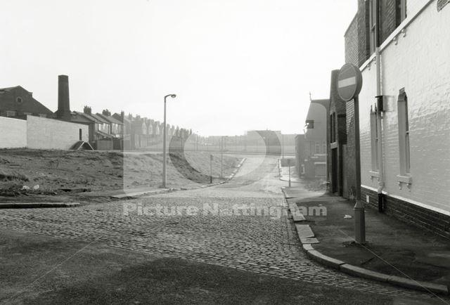 Fisher Street, Basford, 1979