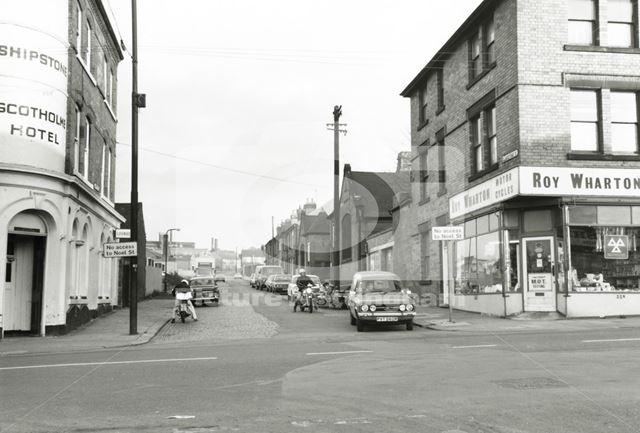 Gladstone Street, Basford, 1979