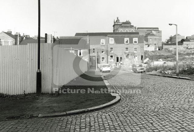 Mann Street, Basford, 1979