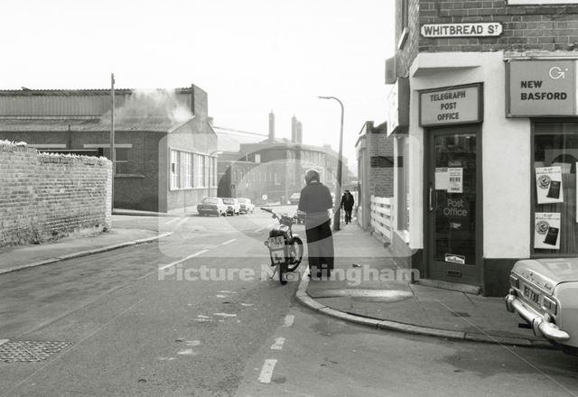 Whitbread Street, Basford, 1979