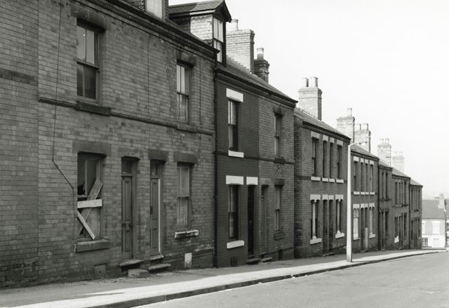 Terraced Housing, Basford, 1980