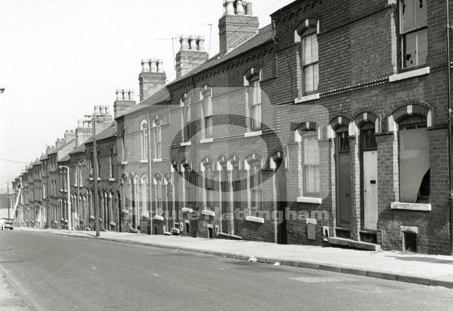 Terraced Housing, Basford, 1980