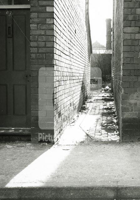 Gawthorne Street, Basford, 1980